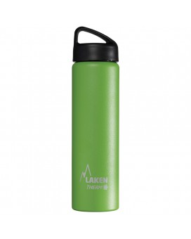 GREEN 0.75L STAINLESS STEEL THERMO BOTTLE - CLASSIC (WIDE MOUTH)