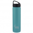 TURQUOISE 0.75L STAINLESS STEEL THERMO BOTTLE - CLASSIC (WIDE MOUTH)