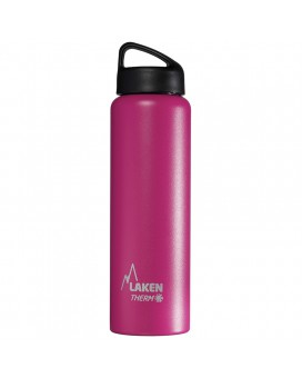 FUCHSIA 1L STAINLESS STEEL THERMO BOTTLE - CLASSIC (WIDE MOUTH)