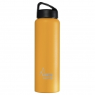 YELLOW 1L STAINLESS STEEL THERMO BOTTLE - CLASSIC (WIDE MOUTH)
