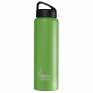 GREEN 1L STAINLESS STEEL THERMO BOTTLE - CLASSIC (WIDE MOUTH)