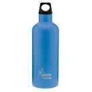 LIGHT BLUE STAINLESS STEEL THERMO BOTTLE 0.5L FUTURA (NARROW MOUTH)