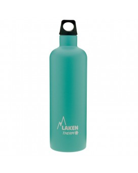 INSULATED TURQUOISE BOTTLE 0,75L STAINLESS STEEL FUTURA (NARROW MOUTH)