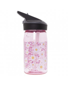 TRITAN PINK BOTTLE FOR KIDS 0,45L WITH JANNU CAP BY KATUKI SAGUYAKI