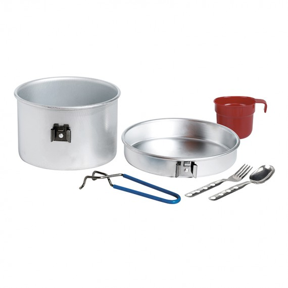 Aluminium cooking set 1 p. 1,25 L.