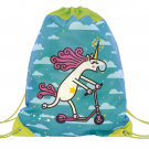 TURQUOISE BACKPACK BAG FOR KIDS BY KATUKI SAGUYAKI