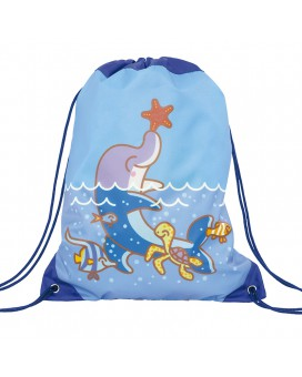 BLUE BACKPACK BAG FOR KIDS BY KATUKI SAGUYAKI