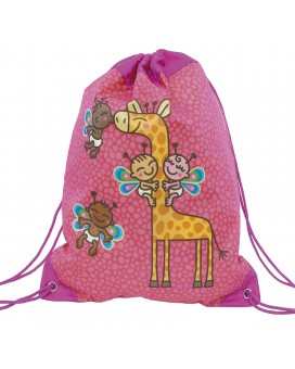 PINK BACKPACK BAG FOR KIDS BY KATUKI SAGUYAKI