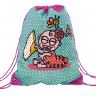 TURQUOISE BACKPACK-BAG FOR KIDS BY KATUKI SAGUYAKI