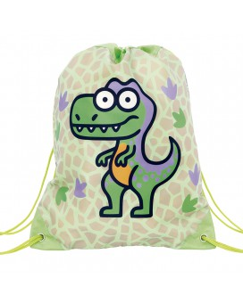 GREEN BACKPACK BAG FOR KIDS BY KATUKI SAGUYAKI