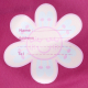 Mochila térmica rosa de Katuki Saguyaki desplegable y de fácil limpieza