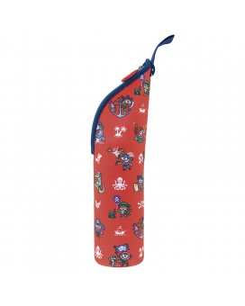RED NEOPRENE COVER FOR BABY BOTTLES AND LITTLE BOTTLES