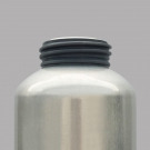 ALUMINIUM DRINKING BOTTLE 0,6L GREEN CLASSIC (WIDE MOUTH)