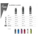 Aluminium drinking bottle CLASSIC 0,75 L