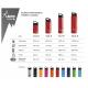 BOTELLA TÉRMICA 0,5L ROJA DE ACERO INOXIDABLE CLASSIC (BOCA ANCHA)