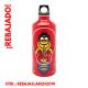 RED FIRE: BOTELLA DE ALUMINIO 0,60L DE KUKUXUMUSU FUTURA (BOCA ESTRECHA)