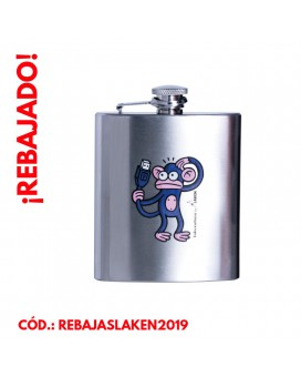 STAINLESS STEEL HIP FLASK 8 oz. MONO