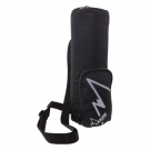 XL BLACK ISOLATING COVER FOR 1,5 L BOTTLES WITH SHOULDER STRAP