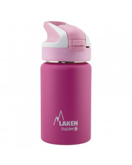 FUCHSIA INSULATED 18/8 STAINLESS STEEL 0,35L WIDE-MOUTH SUMMIT BOTTLE