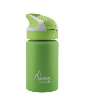 GREEN INSULATED 18/8 STAINLESS STEEL 0,35L WIDE-MOUTH SUMMIT BOTTLE