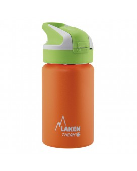 ORANGE INSULATED 18/8 STAINLESS STEEL 0,35L WIDE-MOUTH SUMMIT BOTTLE