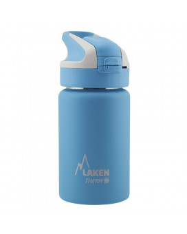 LIGHT BLUE INSULATED 18/8 STAINLESS STEEL 0,35L WIDE-MOUTH SUMMIT BOTTLE