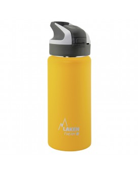 0.5L YELLOW INSULATED 18/8 STAINLESS STEEL WIDE-MOUTH SUMMIT BOTTLE