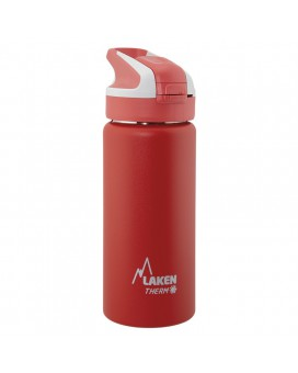 RED INSULATED 18/8 STAINLESS STEEL 0,5L WIDE-MOUTH SUMMIT BOTTLE