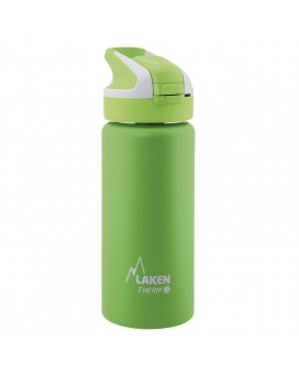 GREEN INSULATED 18/8 STAINLESS STEEL 0,5L WIDE-MOUTH SUMMIT BOTTLE