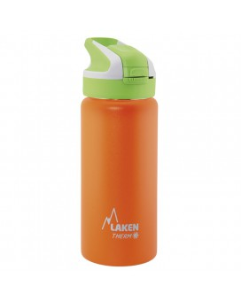 ORANGE INSULATED 18/8 STAINLESS STEEL 0,5L WIDE-MOUTH SUMMIT BOTTLE