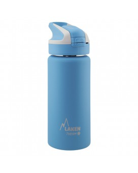 0.5L LIGHT BLUE INSULATED 18/8 STAINLESS STEEL WIDE-MOUTH SUMMIT BOTTLE
