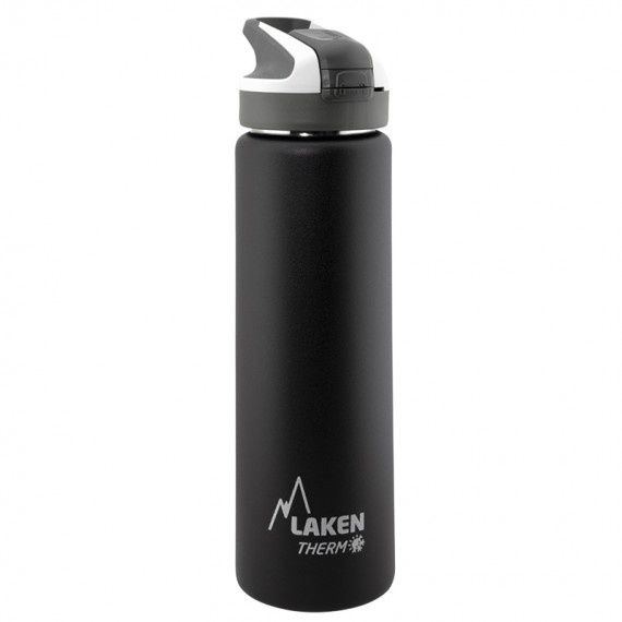 YELLOW INSULATED 18/8 STAINLESS STEEL 0,75L WIDE-MOUTH SUMMIT BOTTLE