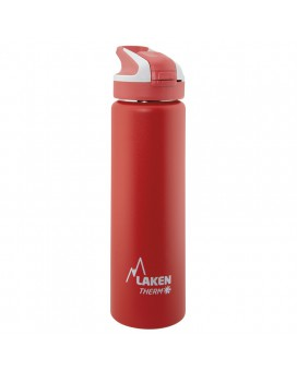 RED INSULATED 18/8 STAINLESS STEEL 0,75L WIDE-MOUTH SUMMIT BOTTLE