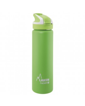 GREEN INSULATED 18/8 STAINLESS STEEL 0,75L WIDE-MOUTH SUMMIT BOTTLE