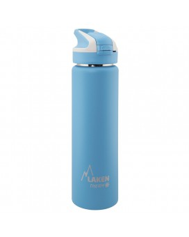 LIGHT BLUE INSULATED 18/8 STAINLESS STEEL 0,75L WIDE-MOUTH SUMMIT BOTTLE