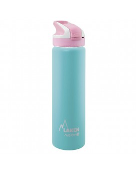 TURQUOISE GREEN INSULATED 18/8 STAINLESS STEEL 0,75L WIDE-MOUTH SUMMIT BOTTLE