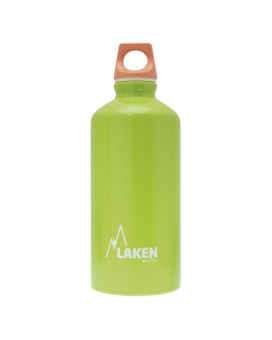 0.60L LIGHT GREEN FUTURA ALUMINIUM BOTTLE (NARROW MOUTH)