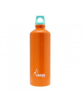 ORANGE 0.75L ALUMINIUM DRINKING BOTTLE FUTURA (NARROW MOUTH)