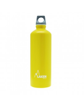 YELLOW ALUMINIUM DRINKING BOTTLE 0,75L FUTURA (NARROW MOUTH)