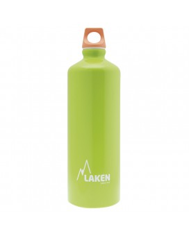 GREEN ALUMINIUM DRINKING BOTTLE 1L FUTURA (NARROW MOUTH)