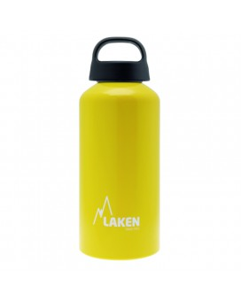 0.6L YELOW CLASSIC ALUMINIUM BOTTLE (WIDE MOUTH)
