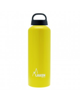 Light Blue Aluminium drinking bottle CLASSIC 0,75 L