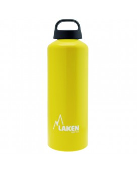 1L YELLOW CLASSIC ALUMINIUM BOTTLE (WIDE MOUTH)