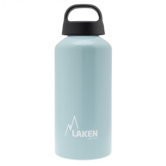 Light Blue Aluminium drinking bottle CLASSIC 0,6L