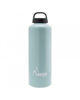 1L LIGHT BLUE CLASSIC ALUMINIUM BOTTLE (WIDE MOUTH)