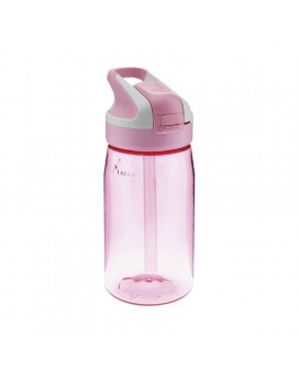 PINK TRITAN BOTTLE 0.45L SUMMIT CAP (WIDE MOUTH)