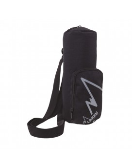 X BLACK ISOLATING COVER FOR 1L BOTTLES WITH SHOULDER STRAP