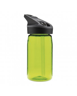 GREEN TRITAN BOTTLE 0.45L JANNU CAP (WIDE MOUTH)