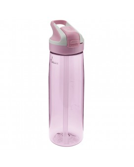 PINK TRITAN BOTTLE 0.75L SUMMIT CAP (WIDE MOUTH)