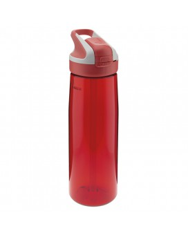 RED TRITAN BOTTLE 0.75L SUMMIT CAP (WIDE MOUTH)